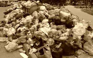Вывоз мусора самосвалами
