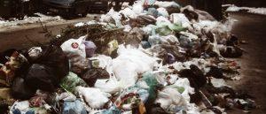 Вывоз мусора в районах